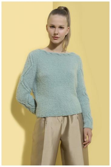 Milano Sweater INTI Knitwear in Caribe
